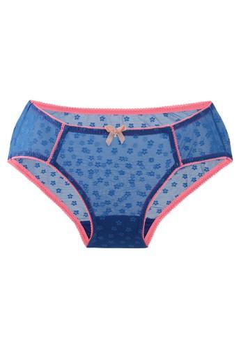 LAVABRA Intimates blue Very Sexy Panty - Danielle Sexy Full Lace Bikini Panty LA387US72SLFID_1