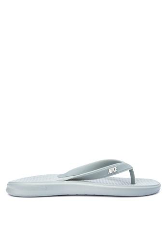 Nike grey Men's Nike Solay Thong Sandals NI126SH0STSEMY_1