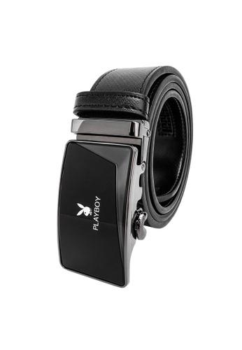 Playboy black 35mm Automatic Belt 4DA65ACB7408A6GS_1