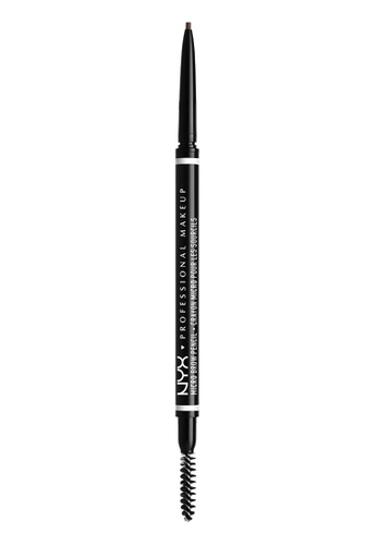 NYX Professional MakeUp brown NYX PROFESSIONAL MAKEUP Micro Brow Pencil - Brunette E3CA7BE88F54DCGS_1