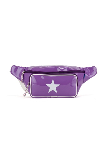 Peeps purple Pop Pop Waist Bag 5F298AC29A3948GS_1