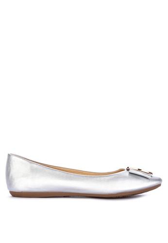 Gibi silver Ballet Flats 2201ESHCEB127EGS_1