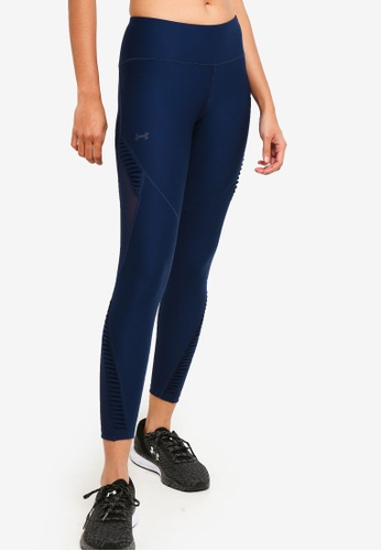 Under Armour blue UA Vanish Pleated Ankle Crop Leggings 1A71AAA4EC46A5GS_1
