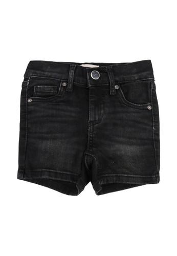 ONLY black Blush Denim Shorts 027C7KA72AC731GS_1
