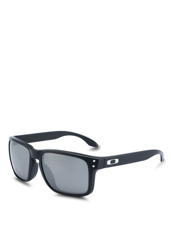 Oakley black Performance Lifestyle OO9244 Sunglasses 1D0D5GLED4D76DGS_1