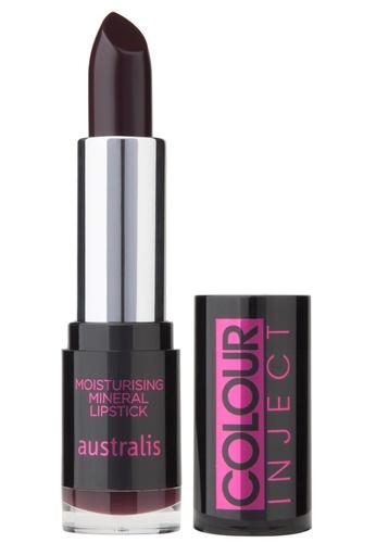 Australis Colour Inject Moisturising Lipstick - Grunge AU782BE93DVISG_1