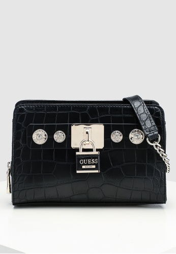 49c444164454 Buy Guess Anne Marie Top Zip Crossbody Bag Online on ZALORA Singapore