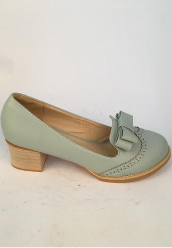 Sunnydaysweety blue On Sales Blue Bow Shoes C013037 SU443SH08SAPHK_1