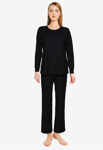 Vero Moda black Vivi Nightwear Set B6994AA563F681GS_1