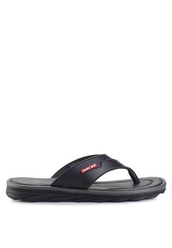 Homyped black Civic 01 Men Sandals HO842SH63VEIID_1