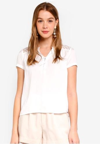 Vero Moda white Marella Top F0AC1AA4218148GS_1