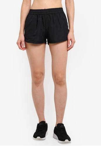 Running Bare black Running Shorts With Side And Coin Pocket C3F55AABA66F24GS_1