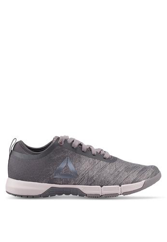 Reebok 灰色 and 紫色 Reebok Speed Her TR 訓練鞋 3F21FSH41C5B4FGS_1