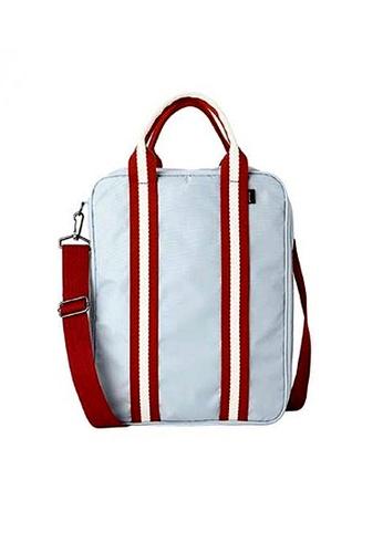 LULUGIFT grey Travel Multiple Function Grey Sling Shoulder Bag LU989AC99SWQMY_1