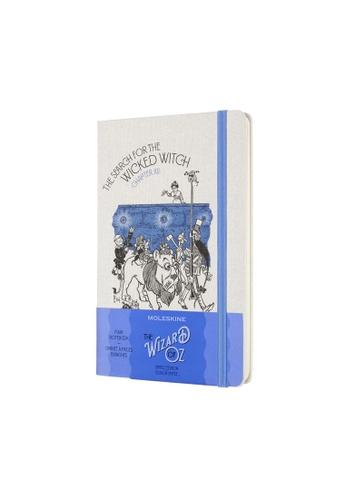 Moleskine blue Limited Edition Notebooks Ruled Hard Wizard Of Oz Blue Large E64A6HL238E885GS_1