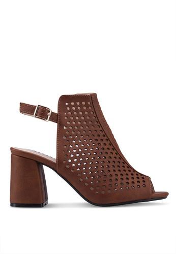 NOVENI brown Noveni Heels 507DFSH90A29A6GS_1