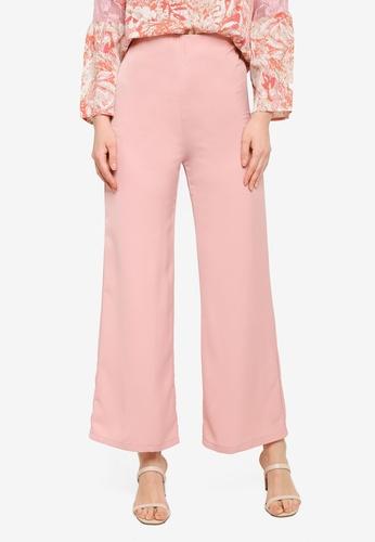 JULY pink JULY Basics Palazzo Pants 609A3AAAD3E4F5GS_1