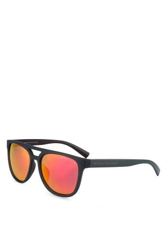 Armani Exchange black Armani AX4032F Sunglasses 0725CGL2D6C8FDGS_1