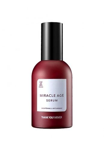 Thank You Farmer THANK YOU FARMER Miracle Age Repair Serum 60ml TH577BE04MRVMY_1