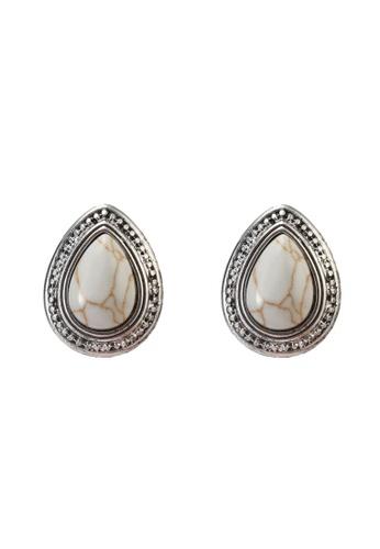 niko and ... grey Beaded Earrings 8B42EAC51F6DD4GS_1