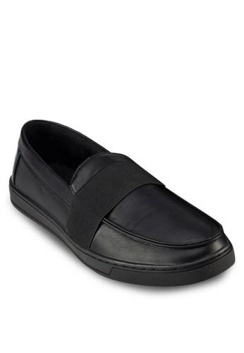 彈性飾帶樂福鞋,zalora 男鞋 評價 鞋, 懶人鞋