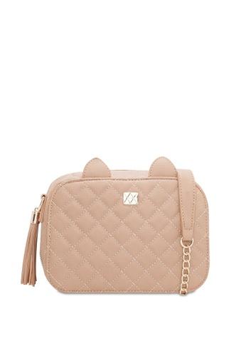 VINCCI beige Shoulder Bag FE080ACC03FB9BGS_1