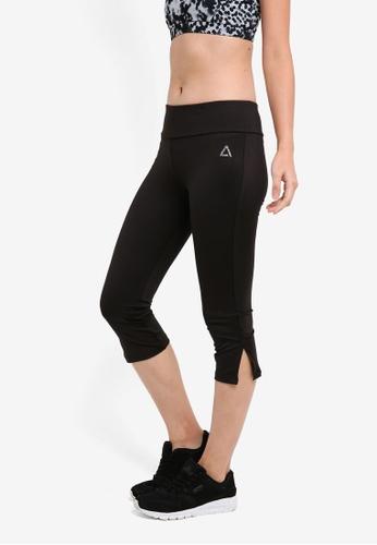 AVIVA black Capri Pants DB5B5AA6A8ADBFGS_1