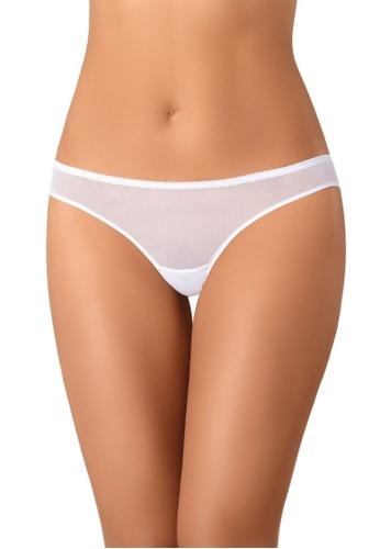 Teyli white Women's Brasilian Panties Lacea White 1559DUSBE06C15GS_1