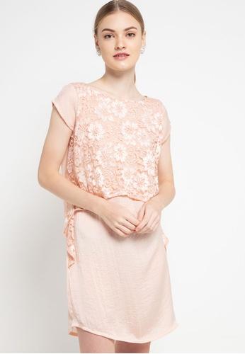 CHANIRA LA PAREZZA pink Haniya Dress 8169EAAD2E1F71GS_1
