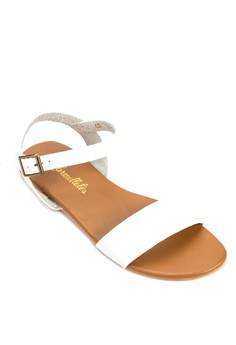 Flat Ankle Strap Sandals