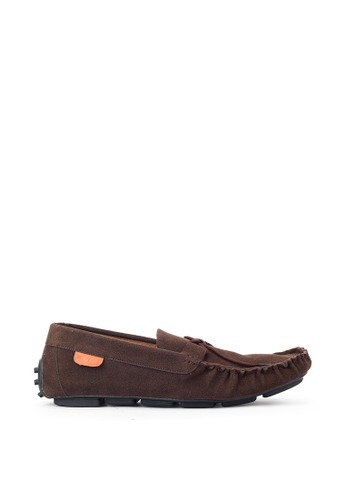 Navara brown Aland Brown Driving Loafers 23C43SH3D2D8DCGS_1