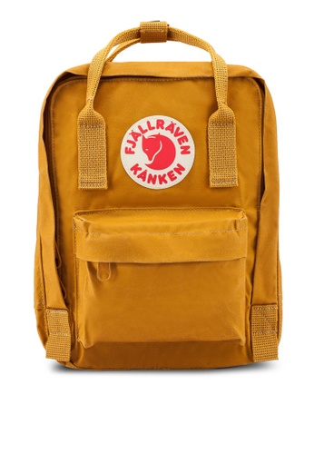 Fjallraven Kanken brown Kanken Mini Backpack 48F1FAC70CDE04GS_1