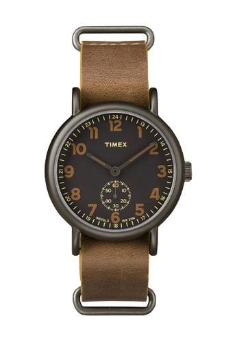 TIMEX brown Timex Weekender™ Oversized - TW2P86800 TI205AC0RDKDMY_1