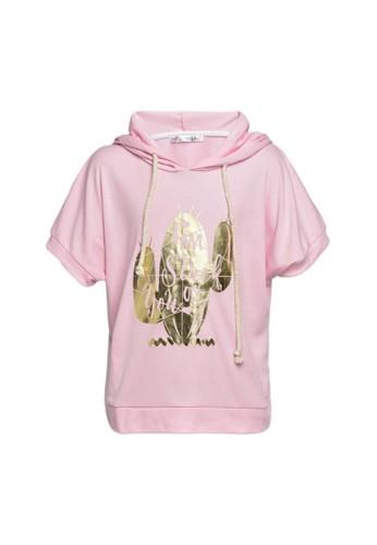 Miss Monique pink Jacket hoodie 402A7KA97B5350GS_1