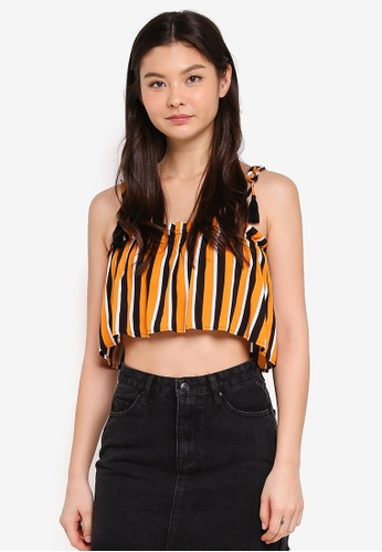 Supre multi Tie Shoulder Crop Top B913AAA8B5327FGS_1