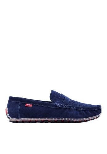 Life8 blue Mens Elastic Casual Shoes-09612-Blue LI283SH0FFGGSG_1