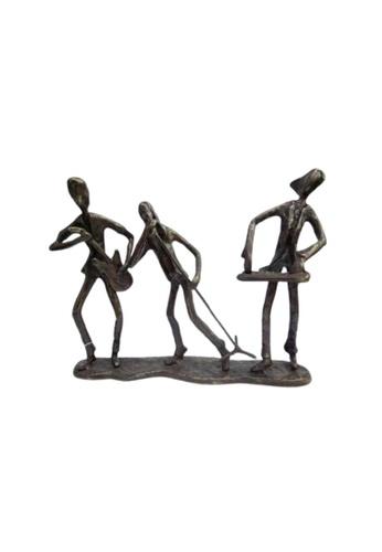 S&J Co. Home Decor Resin Figurines Musical Handicraft Ornament Gift - Music Rokers 52B6FHL70008DEGS_1