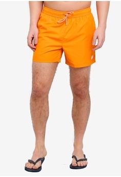 cb6e217abbb2 Topman orange Orange Swim Shorts 71E00USEC1E658GS 1