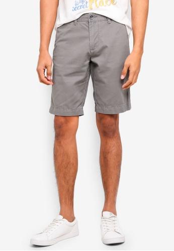 OVS grey Casual Chino Shorts 90EA6AA7D51A13GS_1