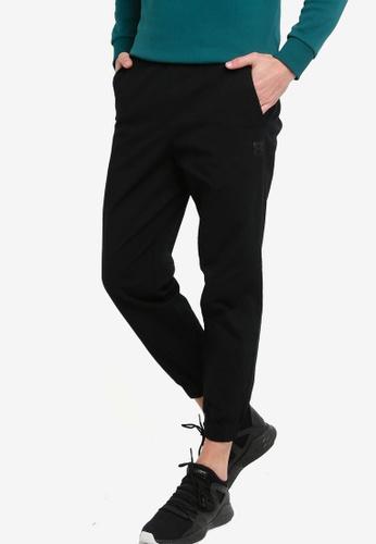 361° black Sports Life Casual Pants 23C0EAAAE6F088GS_1
