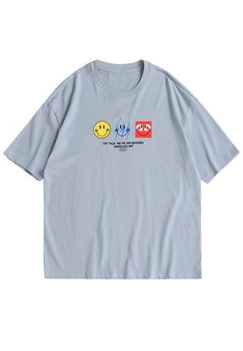 Twenty Eight Shoes Trend Printed Short T-shirt 1642S21 A319CAADD9FD0EGS_1