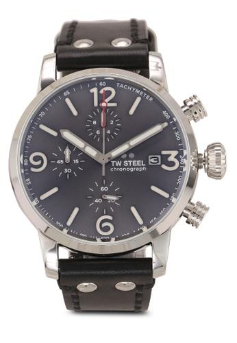 TW Steel black Maverick MS93 Watch 1FEA9AC6A6C78DGS_1