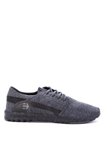 Etnies black Scout Sneakers ADA58SH466514BGS_1