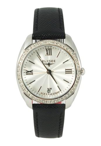 Elysee black Elysee Watches - Jam Tangan Wanita - Leather - 28600B - Diana Watches (Silver) FDB24AC6CB45BDGS_1