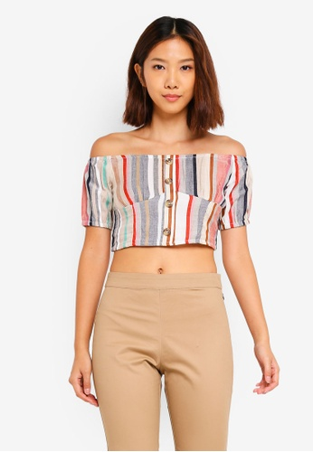 eda89ef8e Shop Cotton On Marlo Off The Shoulder Top Online on ZALORA Philippines