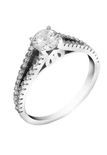 Elfi silver Elfi 925 Genuine Silver Engagement Ring P81 – Endless Beauty ECFCDAC73A0253GS_1