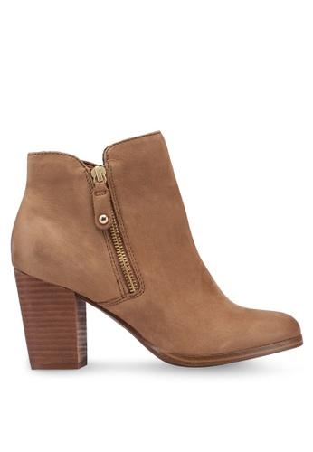 ALDO 褐色 素色高跟踝靴 B9F07SH95EA4F5GS_1