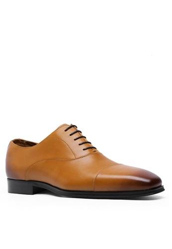 Twenty Eight Shoes Leather Cap Toe Business Shoes 201608 E52C5SH939D6EFGS_1