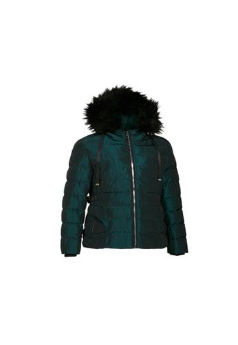 Universal Traveller green Universal Traveller Elegant Slim Fit Padded Jacket - PJW 9034 FC8FCAA56531E2GS_1