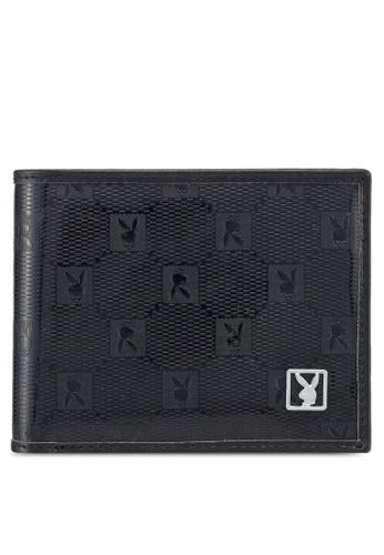 Playboy black Playboy Rfid Blocking Wallet 6BF39AC80B3DFBGS_1